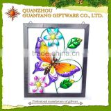 Metal 3d picture frame arts photo frame butterfly decoration