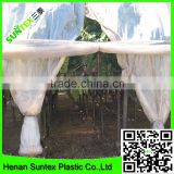 150 micron blue LDPE plastic film for grapes covering,outside used blow molding greenhouse film