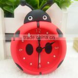 2015 cartoon character animal plant custom pantone color cheap silicone desk clock,silicone alarm clock,silicone table clock