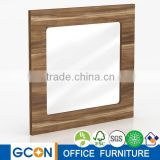 Modern style small wooden frame table dressing mirror for kids