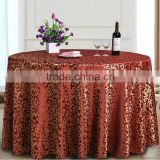 TC-173 Round 100%Polyester Curly Willow Sequin Table Cloth