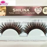 Beauty eyelash long thick false eyelash color fiber false eyelashes thick fake eyelashes Makeup beauty ZX:FE870
