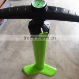 new type effort with a gauge Plastic hand pump/inflatable hand pump air pump/hand pump with guage