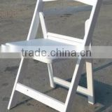 plastic resin PP folding wedding chair