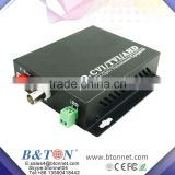 4Ch 720P/960P/1080P HD-CVI/AHD/HD-TVI Converter Fiber Optic to BNC Video Converter fiber optical transmitter and receiver