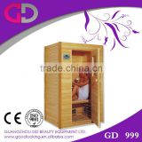 guangzhou hot infrared double room/farared slimming cabinet and blanket/Saunas/wood products