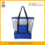 new design waterproof pvc cooler bag shopping beach bag                                                                                                         Supplier's Choice