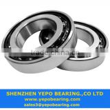 High quality Long life chrome steel, Gcr15 angular contact ball bearings 7201C for industrial equipment