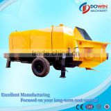 HBT60 trailer mounted concrete pump,portable concrete pumps