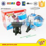 Hot Sell Baby Toy Cartoon Plastic Mini drum Toy Kids Jazz Drum Set