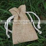 small jute jewelry pouch,recycled gift bag                                                                         Quality Choice