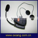 Bluetooth noise cancelling intercom headset for helmet, Motorcycle gps bluetooth helmet headset