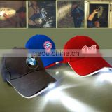 Yangzhou Factory Professional Customized LED Hat and LED Cap , LED Baseball caps with lights