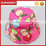 A-1570 Holiday Children Outdoor Beach Cap Travel Baby Bucket Sun Hat Toddler Kids Sun Beach Hat