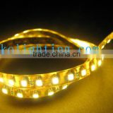 Led strip 12v IP65 waterproof 3528 SMD commercial lights rope amber bulb