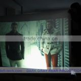 Free delivery cost Rear projection film for 3D holo display,Magic ultra-light holographic screen film