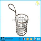 Kitchen fish frying basket, stainless steel deep fry basket, different kinds fry baskets