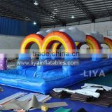 Giant inflatable slip n slide/adult size inflatable water slide/used inflatable water slide for sale