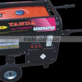 10kva portable generator 12 volt dc generator double voltage optional