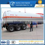 High Quality 56CBM lpg gas transport tankers trailer on sale