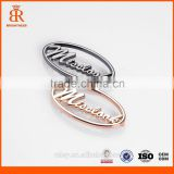 Metal logo maker metal plate for engraved logo jewelry