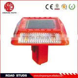 Plastic solar led road stud