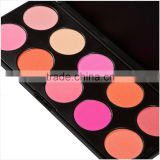 High quality Makeup 10 color beauty cosmetic cream blush cosmetics blusher