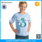 Kids Cotton T-shirt Printing Design Clothes T shirt Short Sleeve Girls Baby Wear OEM Service