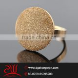 custom rose gold plated jewelry stainless steel signet rings