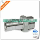 Forged pipe fitting OEM AND CUSTOM from China supplier and manufacture with stainless steel 304, iron, aluminum
