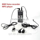 High quality 4GB/8GB mini digital voice recorder micro hidden voice recorder Multifunctional Dictaphone MP3 Player
