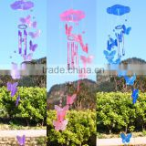beautiful butterfly wind chime