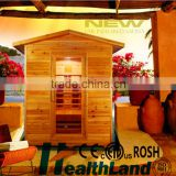 2 person outdoor use beautiful portable home sauna