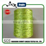 china wool factory wholesale 3mm 4mm spangle sequin yarn