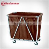 Multifunctional Hotel Steel Laundry Linen Trolley/Housekeeping Cleaning Cart Equipment