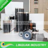 Underfloor thin film heating film/element