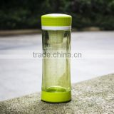 BPA FREE Glass Material Type and Eco-Friendly Feature 300ml Shatter-Proof Double Wall Glass Tea Tumbler