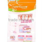 2014 wholesale 110 micron vacuum bags, vacuum storage bag, vacuum compressed bag for clothing