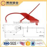 PS102 Plastic cable tie Plastic container security seals safety seal One time use lock seal