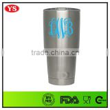 30 ounce insulated stainless steel double wall vacuum sealed tumbler