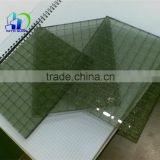 safety wired glass tinted wire reinforced glass toughened glass
