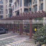 WPC pergola from AVID WPC China supplier