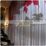 Anping lutong mesh salon curtain design for interior decoration