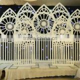Event divider and background Moroccan carved wpc partition movable screens room dividers
