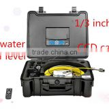"TVBTECH video sewer pipe inspection camera with 7"" TFT LCD monitor and 420 TV lines ,3199F"
