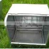 Galvaninzed Horse Hay Feeder With Movable Cap