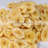 Freeze dried Fruit Banana slices from Thailand