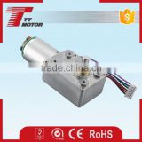 DC worm gear motor or high torque or dc 24v torque gear box motor