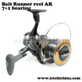 7+1 BB 5.2:1 size 5000 carp fishing bait runner fishing reel