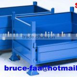 folding steel container/crate